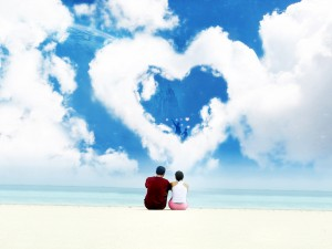 Romantic phrases for St. Valentine's day - Image by freewallpaperpk.blogspot.com