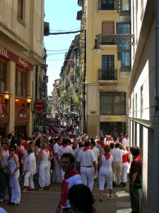 Study Spanihs in Pamplona - Picture by SanchoPanzaXXI - Wikimedia Commons
