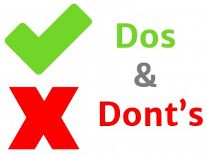 dos and donts- image by www.plancessjee.com