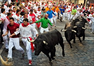 Running of the bulls- image by blogs.sacbee.com